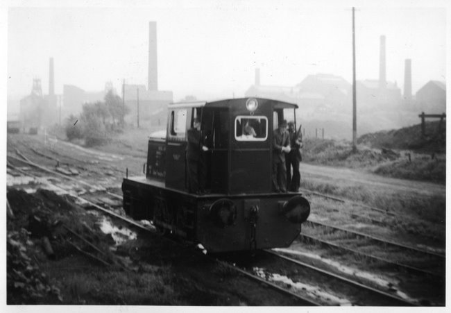 Fowler locomotive on test