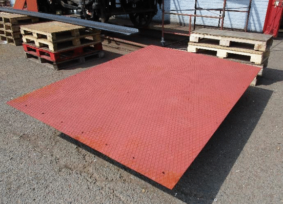 A refurbished floor plate