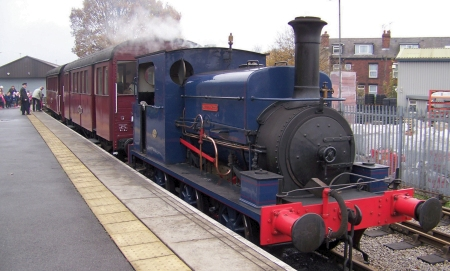 Matthew Murray departing Moor Road platform