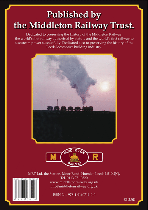 The back cover of Colliery Community Railway